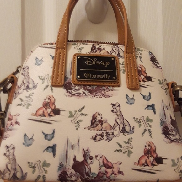 Loungefly Bags Lady And The Tramp Crossbodyclutch Poshmark